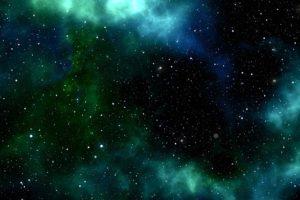 宇宙に輝く星々