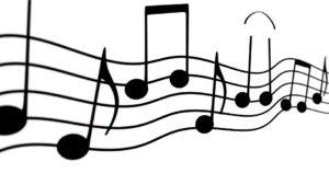 五線譜と音符