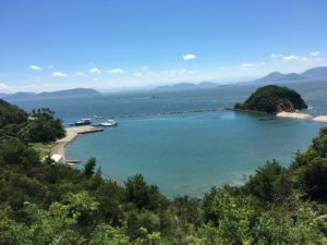 直島から見える海