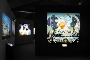 藤城清治美術館の内観