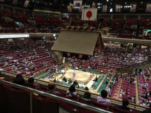 2階席からの眺め